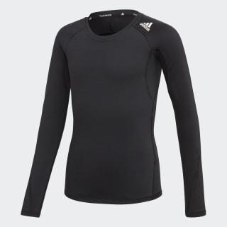 Alphaskin Sport Long-Sleeve Top Black / White ED6291