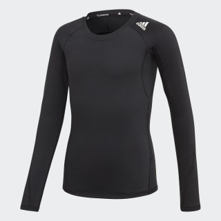 T-shirt Alphaskin Sport Black / White ED6291