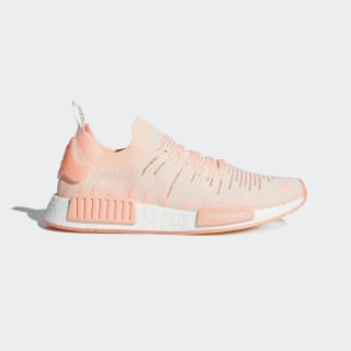 NMD_R1 STLT Primeknit Shoes Clear Orange / Clear Orange / Running White AQ1119