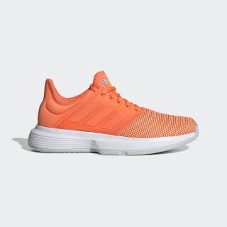 Tenis Gamecourt W Hi-Res Coral / Hi-Res Coral / Light Solid Grey EE3812