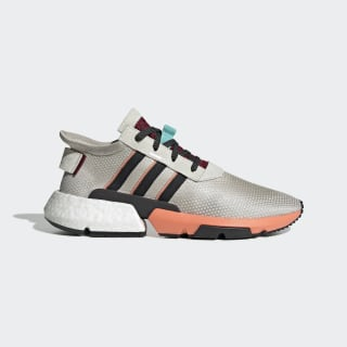 POD-S3.1 Shoes Raw White / Core Black / Semi Coral EE4858