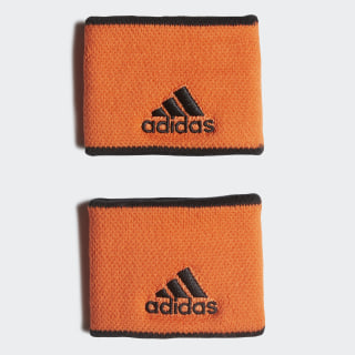 Polsino da tennis Small True Orange / Black / Black FP8053