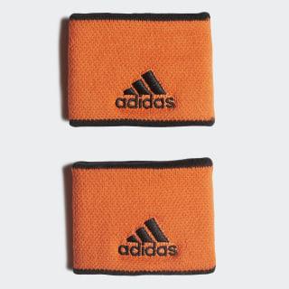 Tennis Wristband Small True Orange / Black / Black FP8053
