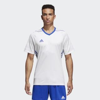 Camisa Tiro 17 WHITE/BOLD BLUE BK5434
