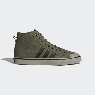 Nizza Hi Shoes Olive Cargo / Core Black / Tech Beige CQ2366
