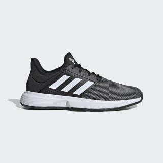 GameCourt Shoes Core Black / Cloud White / Grey Six EG2009