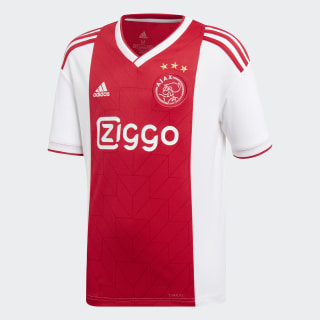 Ajax Heimtrikot White / Bold Red CF5472