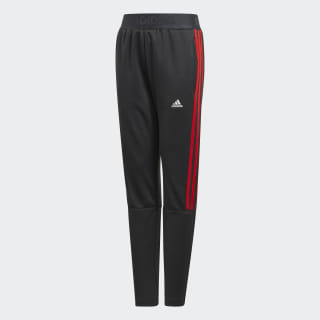 Tiro Tracksuit Bottoms Carbon / Active Red ED5707