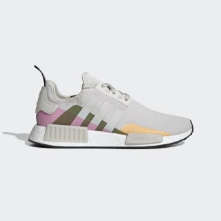 NMD_R1 Shoes Raw White / Raw White / Shock Pink EE5080