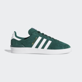 Tenis Campus ADV Collegiate Green / Cloud White / Gold Metallic DB3191