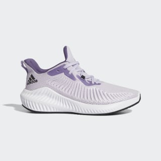 Zapatilla Alphabounce+ Purple Tint / Core Black / Tech Purple EG1385