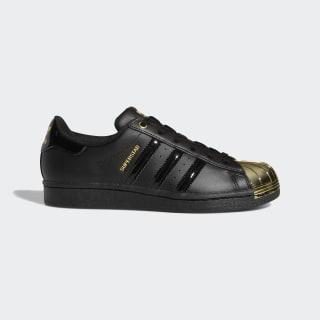 Superstar Metal Toe Shoes Core Black / Core Black / Gold Metallic FV3305