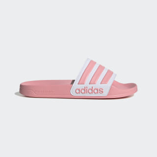 Adilette Shower Slides Glory Pink / Cloud White / Glory Pink EG1886