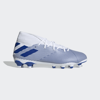 Nemeziz 19.3 Multi-Ground Voetbalschoenen Cloud White / Team Royal Blue / Team Royal Blue EG7215