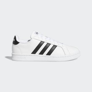 Grand Court Shoes Cloud White / Core Black / Cloud White F36392