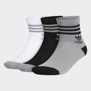Roller Quarter Socks 3 Pairs Light Onix CH7698