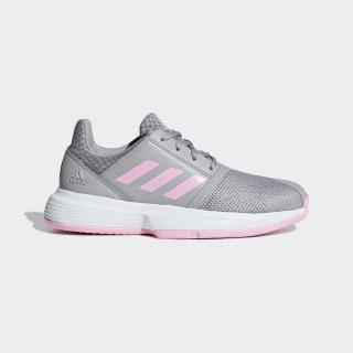 CourtJam Shoes Light Granite / True Pink / Cloud White CG6153