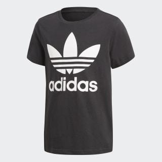 Camiseta Trefoil BLACK/WHITE CF8545