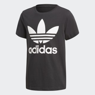 Camiseta Trifolio BLACK/WHITE CF8545