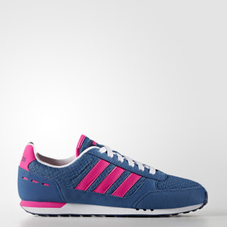 Tenis City Racer CORE BLUE S17/SHOCK PINK S16/MYSTERY BLUE S17 B74492