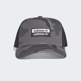 Camouflage Curved Trucker Cap Grey Four / Black / White EH4066