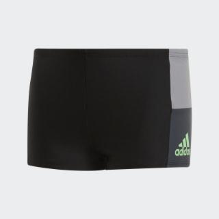 Boxers de natación fitness colorblock boys black DP7558