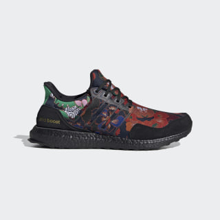 Ultraboost DNA Shoes Core Black / Core Black / Scarlet FX1061