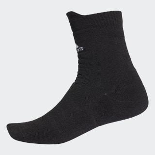 Alphaskin Maximum Cushioning Crew Socks Black / White CG2654