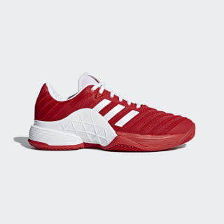 Barricade 2018 Clay Shoes Scarlet/Ftwr White/Scarlet CM7832