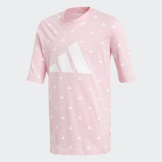 Camiseta ID Hype True Pink / White / White DV0295