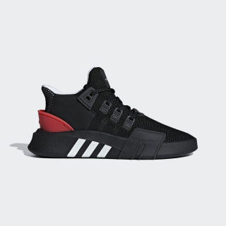 Tênis Eqt Bask Adv CORE BLACK/FTWR WHITE/HI-RES RED S18 AQ1013