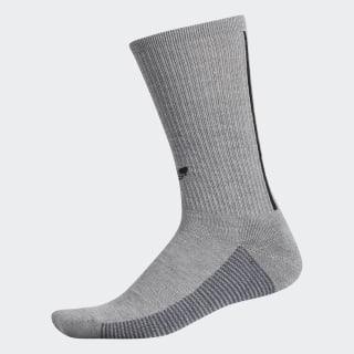 3-Stripes Crew Socks Medium Grey Heather CJ3873