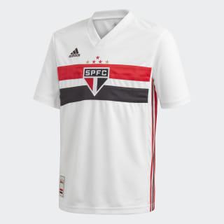 Camisa São Paulo FC 1 White / Black / Red DZ5634