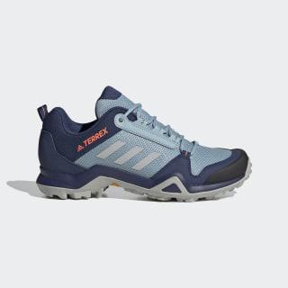 Terrex AX3 Hiking Shoes Tech Indigo / Grey Two / Signal Coral EF3513