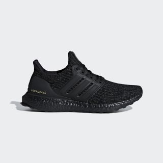 Ultraboost Shoes Core Black / Core Black / Gold Metallic F36123