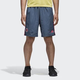 Pantaloneta de Entrenamiento Selección de Colombia 2018 NIGHT MARINE/SOLAR RED CF1515