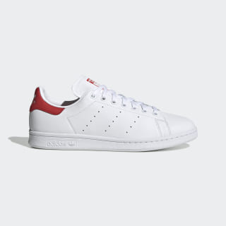 Chaussure Stan Smith Cloud White / Cloud White / Lush Red EF4334