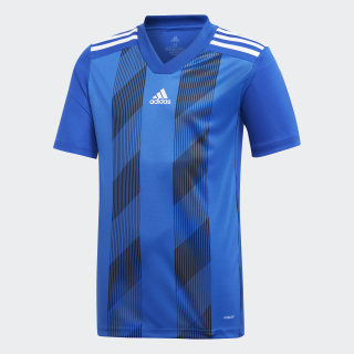 Maillot Striped 19 Bold Blue / White DU4396