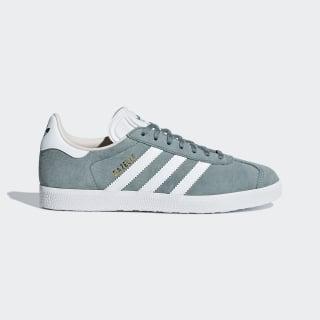 Chaussure Gazelle Raw Green / Cloud White / Linen B41661