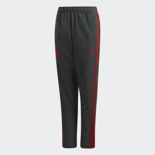 FC Bayern Downtime Tracksuit Bottoms Grey / Red CW7248