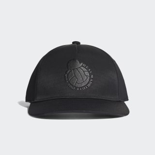 CAP REAL S16 CAP CW BLACK/WHITE CY5607