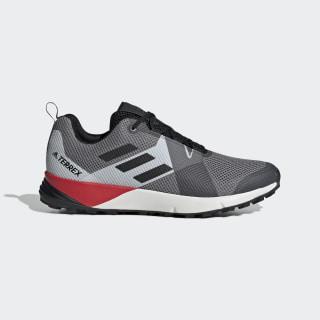 Zapatillas TERREX TWO Grey Three / Core Black / Active Red BC0499
