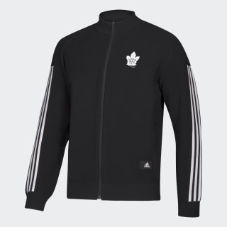 Veste de survêtement ID Knit Maple Leafs Nhl-Tml-522 / Black / White EK3355
