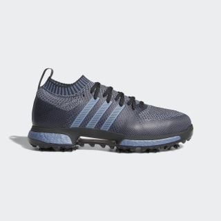 Tour360 Knit Shoes Carbon / Boost Raw Steel Metallic / Grey Four AC8278