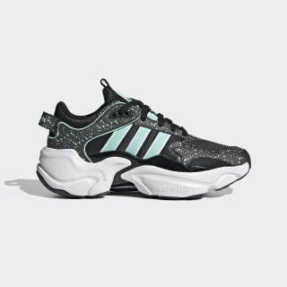 Magmur Runner Shoes Core Black / Cloud White / Frost Mint EF9002