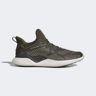 Alphabounce Beyond Shoes Night Cargo / Core Black / Tech Beige BW1247