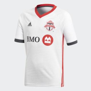 Maillot Toronto FC Extérieur Replica White / Scarlet / Solid Grey CE7858