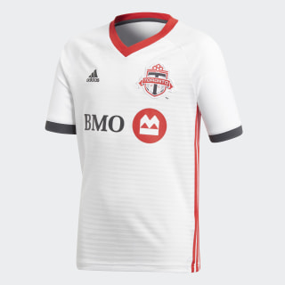 Toronto FC Away Jersey White / Scarlet / Solid Grey CE7858