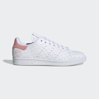 Stan Smith Ayakkabı Cloud White / Cloud White / Glory Pink FV4070