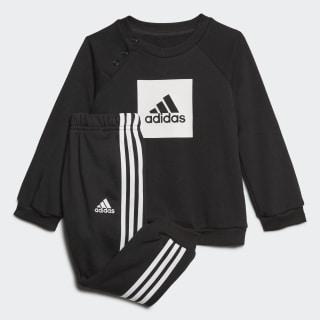 Tuta 3-Stripes Logo Black / White FR5305